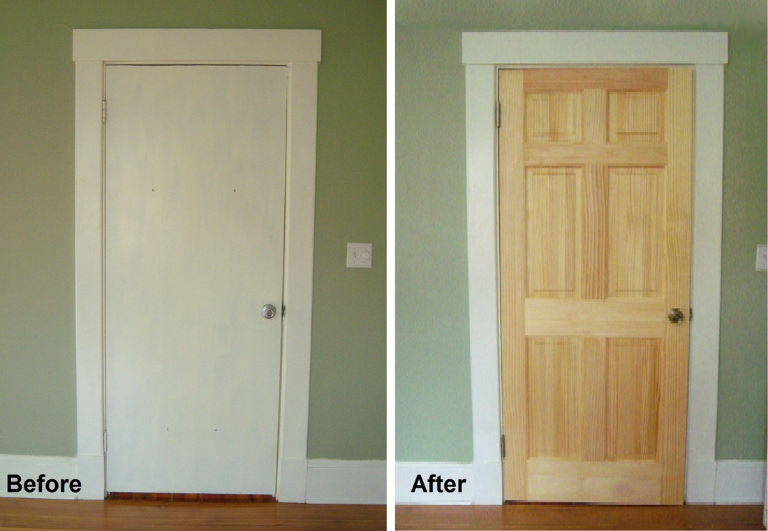 Delicieux Replacing A Closet Door   Before And After