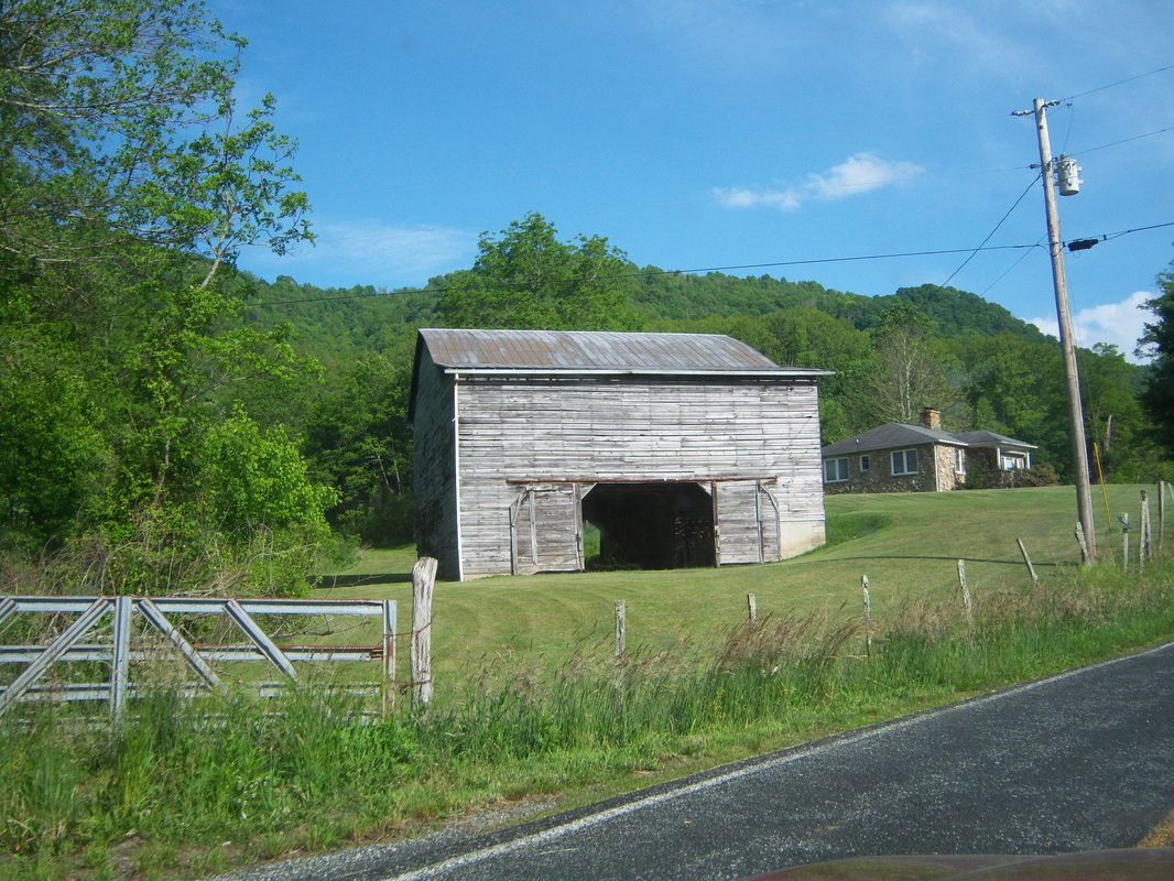 A well maintained barn