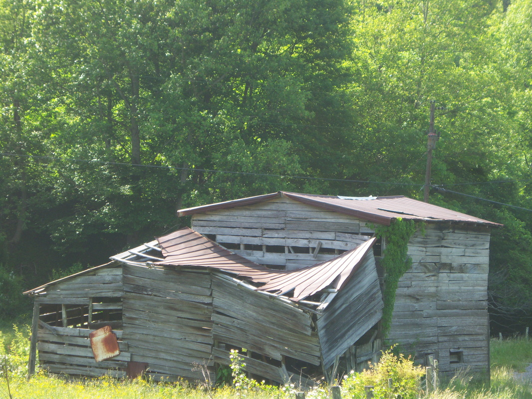Histoic Madison county barn in need of major repairs