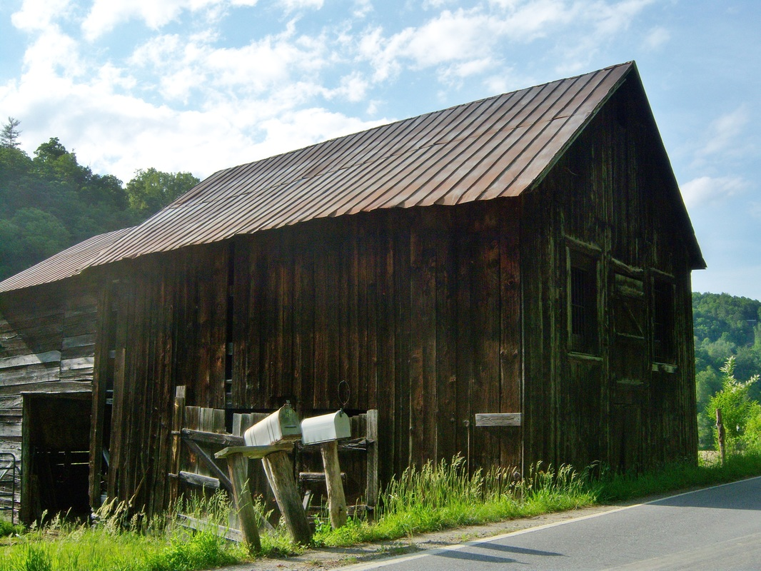 Barns of Madison county NC