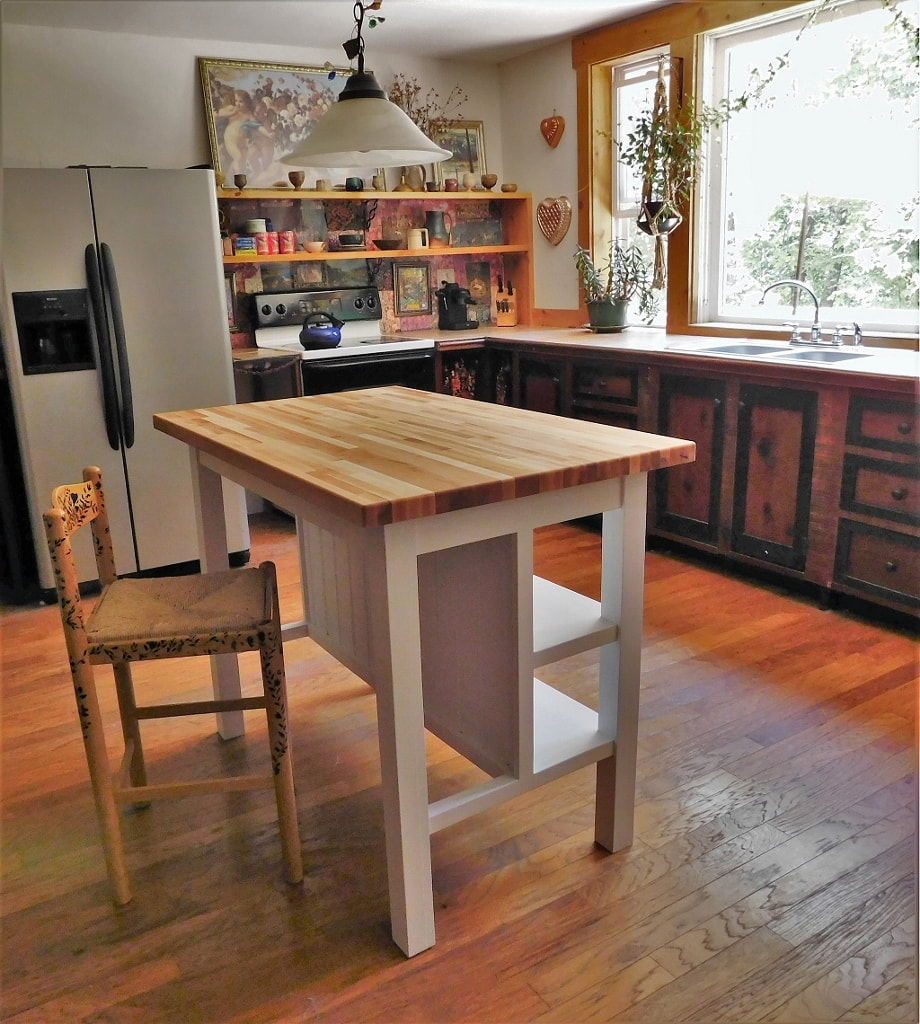 Image of: Custom Kitchen Islands Asheville Nc The Handyman Plan Llc